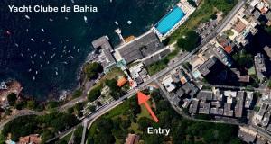 11 Sep Yacht Clube da Bahia Map