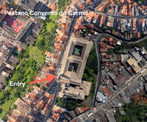 8 Sep Pestano Convento do Carmo Map