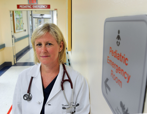 Dr. Marianne Gausche-Hill originated the first pediatric emergency system 25 years ago at Harbor-UCLA Medical Center and now it is the national system based on her model. Photo by Brad Garverson 7-30-10