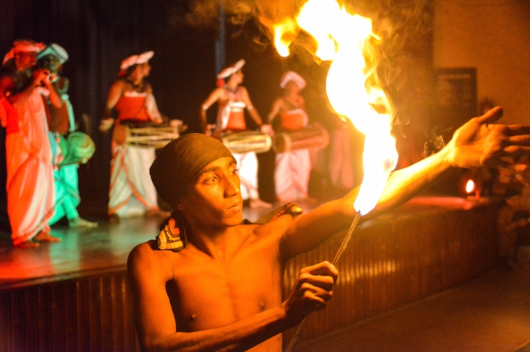 dancing fire walker arm